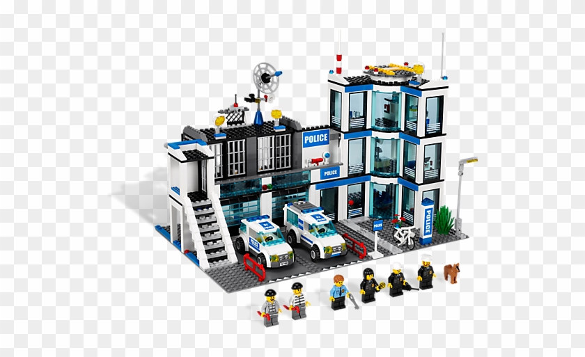 Restore Law And Order In Lego® City With This Feature-packed - Lego City Police Station Set 7498 #453471