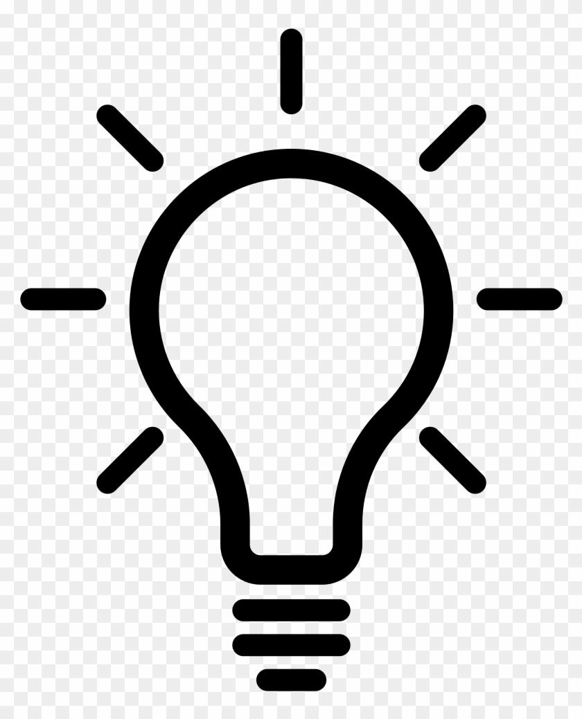 Open - Light Bulb Icon #453611