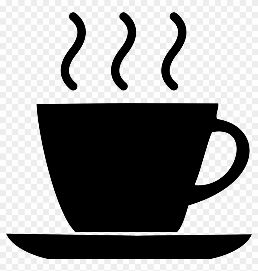 Scripted Coffee Cup Icon - Coffee Cup Icon Black #454422