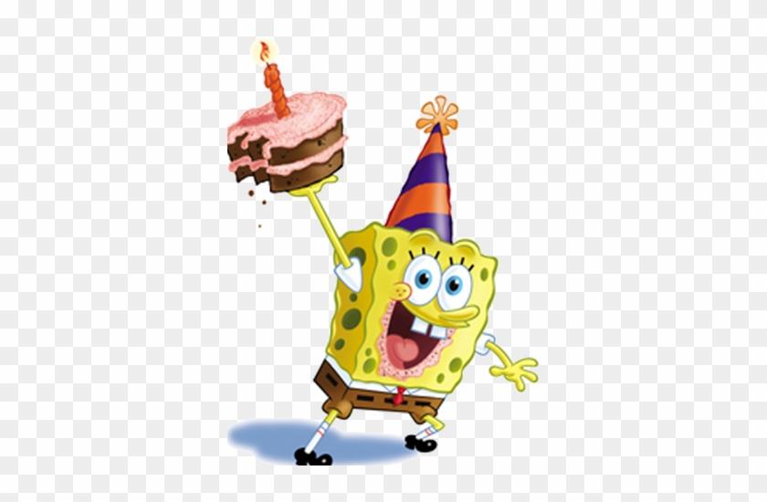 Картинки дня рождения спанч боба