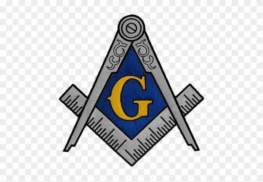 Masonic Logo Freemason Necklace Masonic Square And Compass White