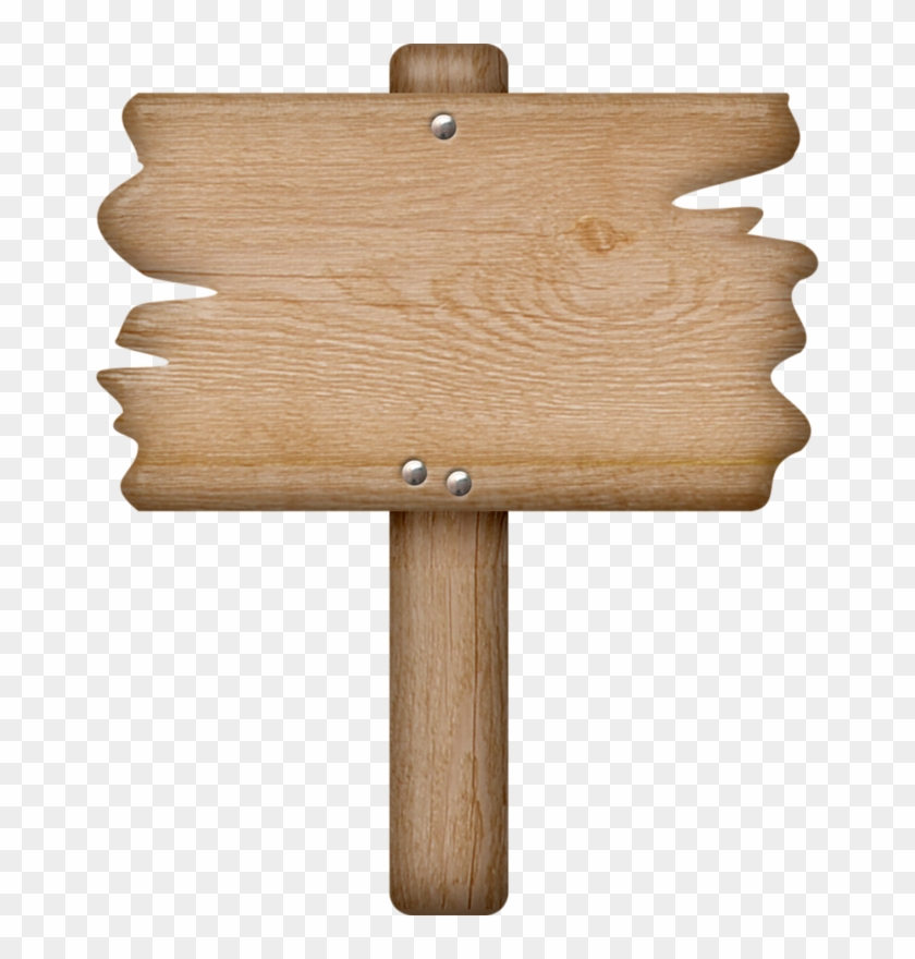 Wooden Sign * - Blank Wooden Sign Clipart #455617