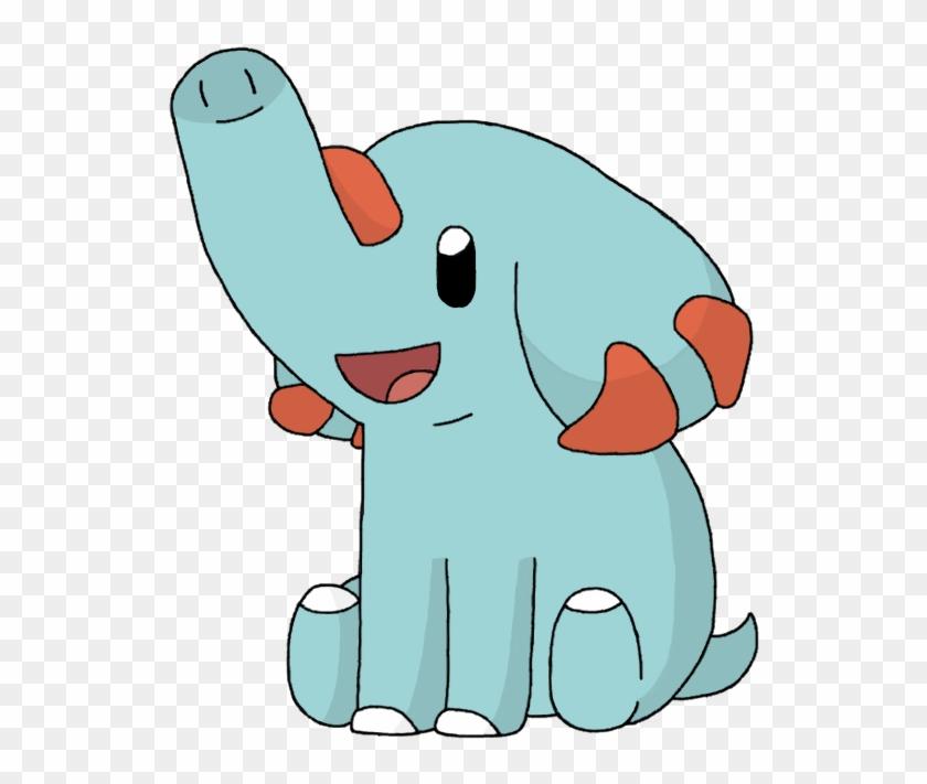 Phanpy By Yodapee - Pokemon That Looks Like An Elephant #455725