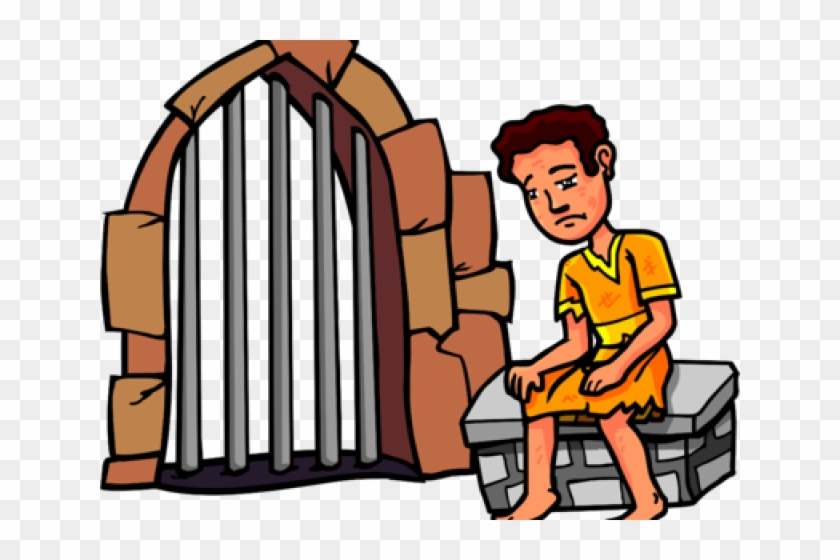 Trial Cliparts Clipartsjail - Joseph In Jail Clipart #456129