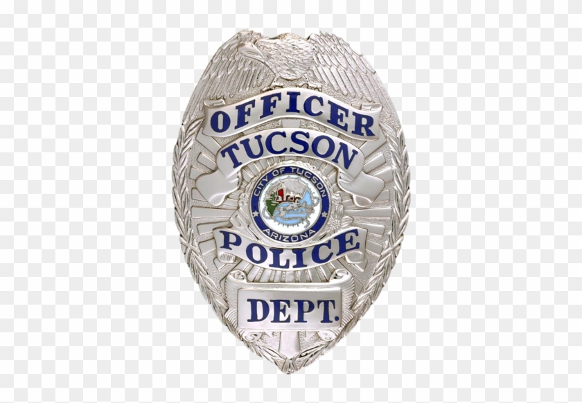 In October, The Southern Arizona Law Enforcement Training - Tucson Police Department Badge #457406
