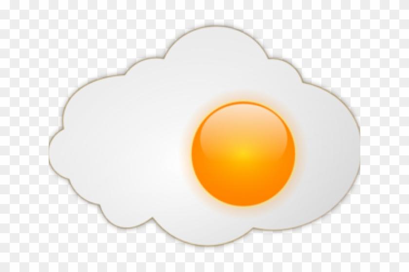 Fried Egg Clipart Clip Art - Sunny Side Up Eggs Transparent #457732