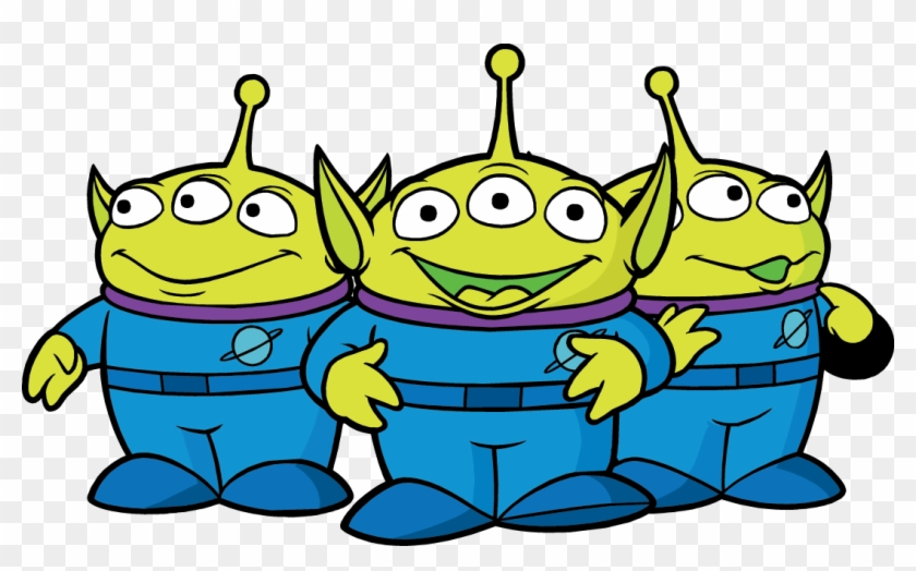 Spaceship Clipart Rocket Ship - Toy Story Alien Printable #458037