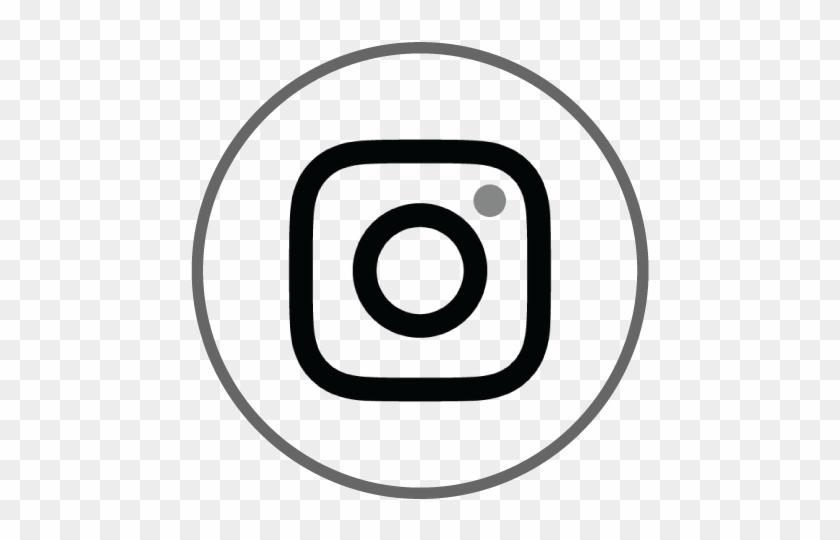 transparent background instagram logo black