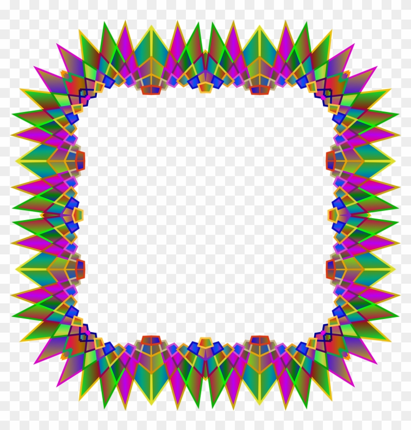 Multipoint Star Frame 4 - Vector Graphics - Free Transparent PNG ...