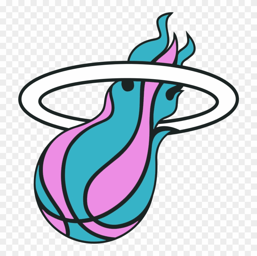 Miami Heat Miami Heat Vice Logo Free Transparent Png Clipart Images Download