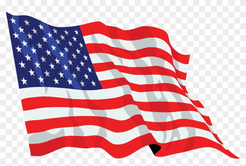 American Flag No Background - United States Flag Png #459259