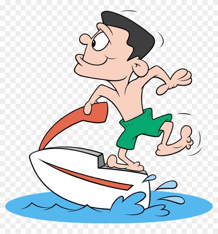 Water Ski Boat Clipart Clipart Worldartsme - Jet Ski Clipart Transparent #459425