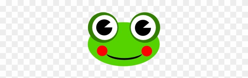 Cute Cartoon Frog With Big Eyes #459595