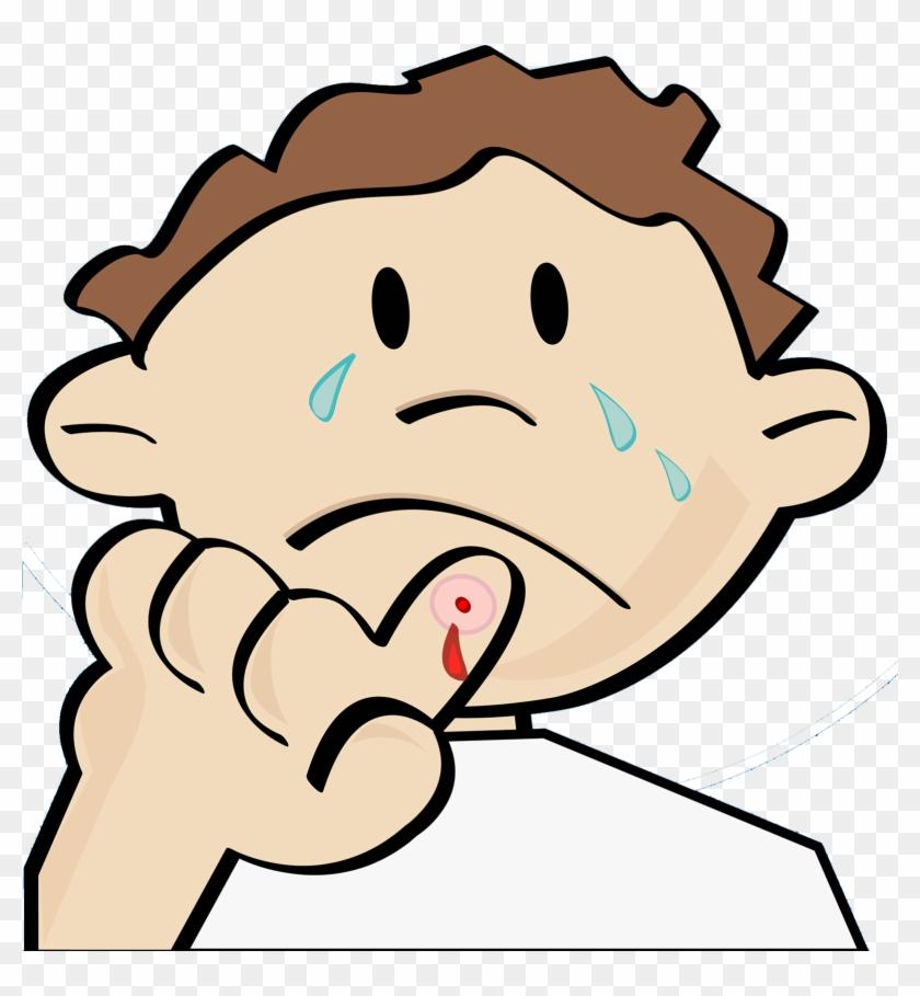 Crying Cartoon Illustration - Cartoon Boy Crying #459734