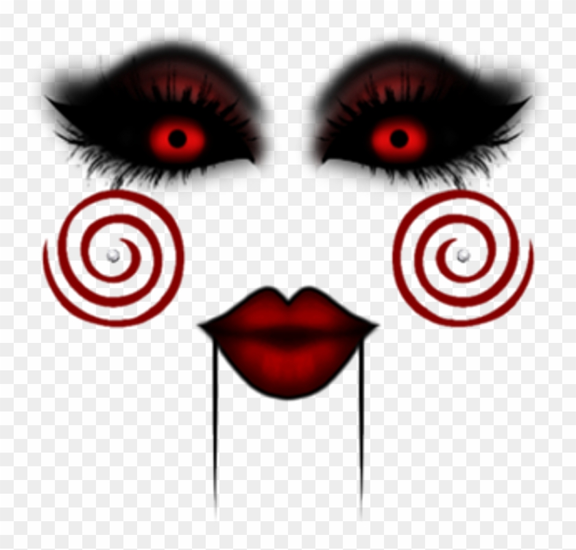 Saw Terror Horror Makeup Photography Edition Face Roblox Free