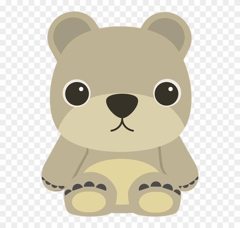 Kindergarten Bear Cliparts - Note Cards (pk Of 20) #460138