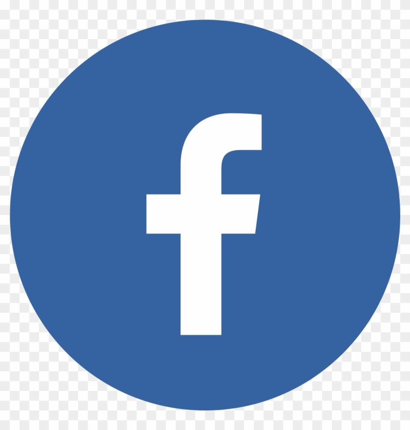 Facebook Logo Circle - Facebook Icon For Email Signature #460340