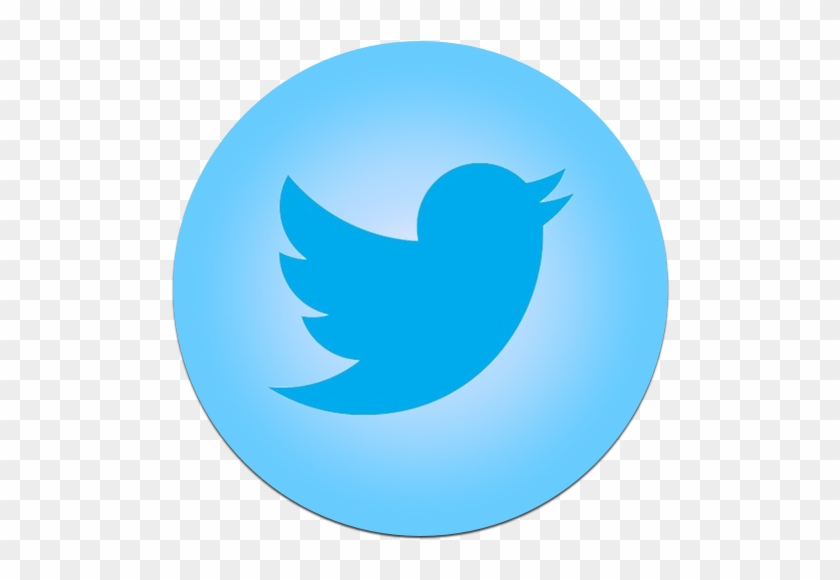 Caribbean Blue Twitter 4 Icon - Twitter Icon Png Free Download #460432