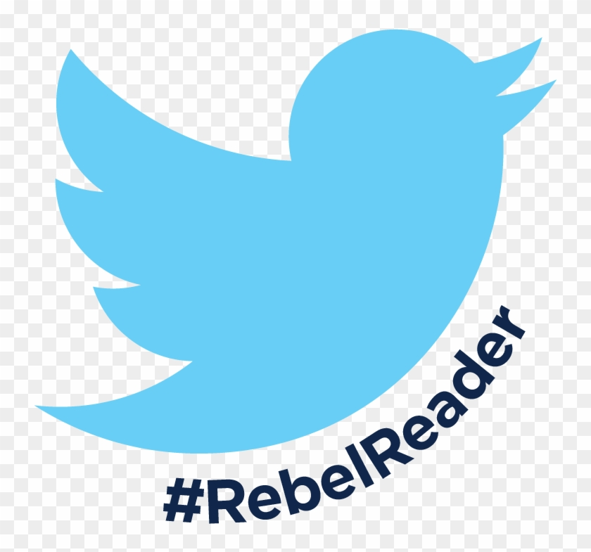Rebel Reader Twitter Tournament - Navy Blue Twitter Logo #460447