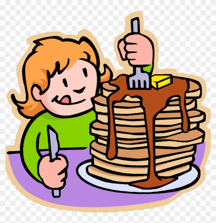 Pancake Clip Art Free Pancake Cliparts Download Free - Eating Breakfast Clipart #460454