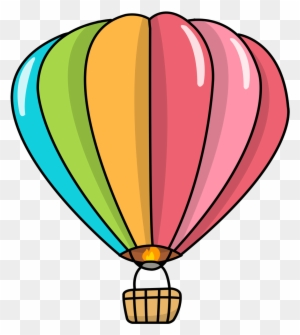 free hot air balloon clip art