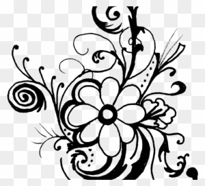 Free clip art flowers transparent png clipart images free download clipart of flowers black and white unique free black and white flower clipart mightylinksfo