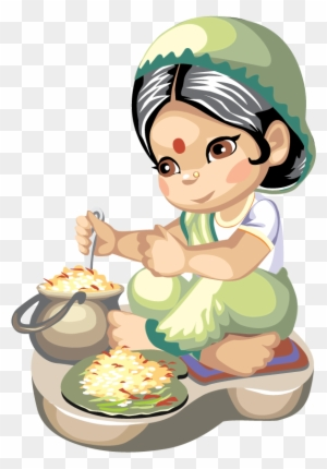 Woman Cooking Clip Art - Royalty Free - GoGraph