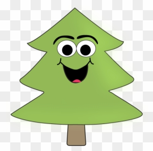 Cartoon Tree Clip Art Image