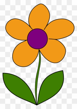 Orange Flower Clipart Transparent Png Clipart Images Free