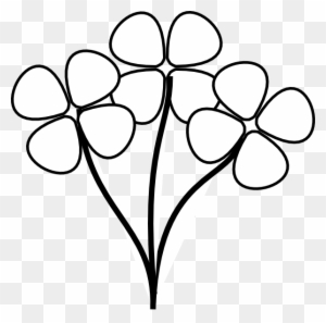 Free clip art flowers transparent png clipart images free download black and white clipart flower flowers clipart black and white mightylinksfo