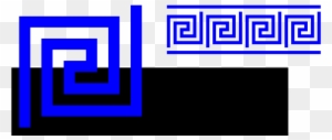 2004 X 2400 86 - Greek Key Border Clipart (#614061) - PikPng