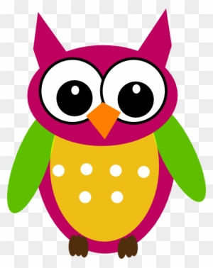 Owl Math Clip Art Free Clipart Images Clip Art Of Colourful Owl