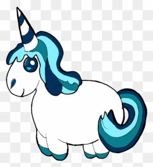 wandsticker einhorn dickes einhorn mit blumen unicorn - blumen einhorn - free transparent png