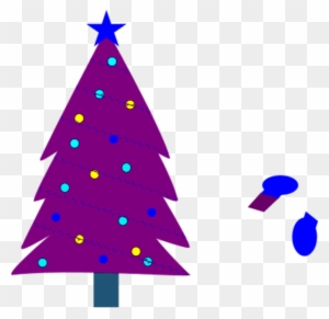 christmas tree clipart purple purple christmas tree clip art free transparent png clipart images download - Small Purple Christmas Tree