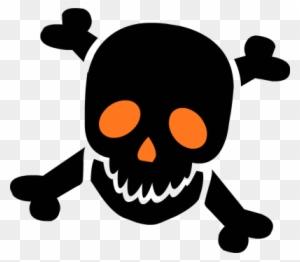 Skull Clip Art Skull And Crossbones Halloween