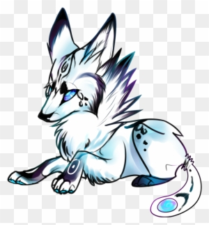 Simple Wolf Drawings Draw A Baby Wolf Free Transparent Png