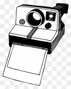 polaroid camera clipart black and white polaroid clipart free