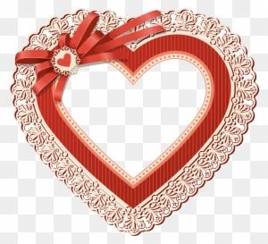 Vintage Valentine Hearts Clip Art Transparent Png Clipart Images
