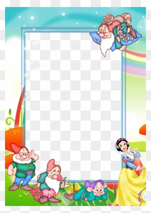 Transparent Kids Png Photo Frame With Snow Snow White Frames