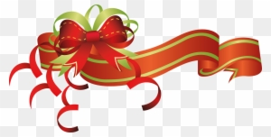 christmas border christmas flowers clip art ribbons chinese new year 2012 greeting free transparent png clipart images download