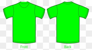 Yellow Green Plain T Shirt Free Transparent Png Clipart Images Download