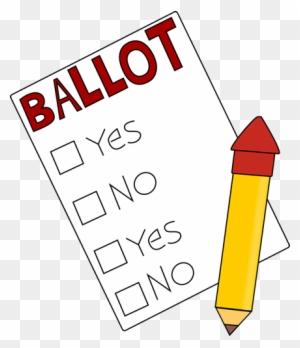 Ballot Box Clip Art Voting Election - Voter Registration - Vote Transparent  Background Transparent PNG