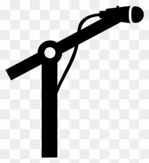 Microphone Silhouette Clip Art, Transparent PNG Clipart ...