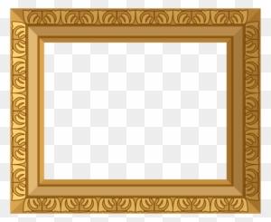 gold frame border square. Ornate Gold Frame Border - Free Transparent PNG Clipart Images  Download Gold Frame Border Square