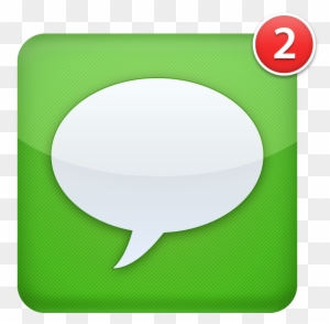 Transparent Background Text Message