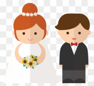 Bride And Groom Clipart Transparent Background