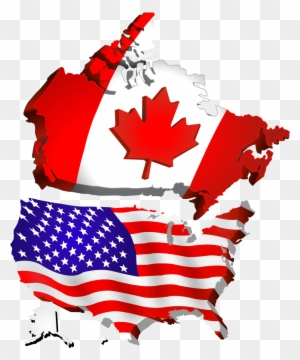 Canada Map Flag.Canada Map Clipart Transparent Png Clipart Images Free Download