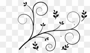 Floral Design Decorative Pattern Retro Ele Simple Swirl Designs