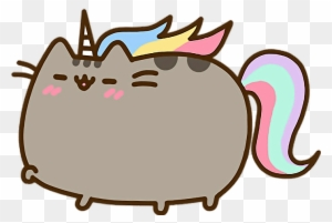 Report Abuse Pusheen Unicorn Free Transparent Png Clipart