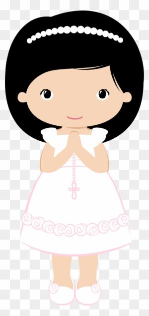 Clipart en Acuarela Niñas Niños Angelitas Angelitos | Etsy